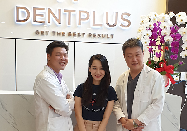 Vietnamese Celebrity Trúc Anh is now a Whitesmile Clear