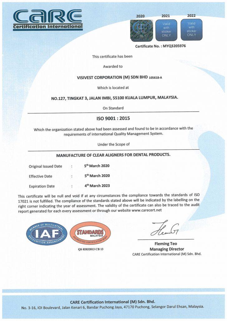ISO9001-Visivest